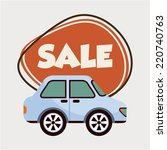 buy car graphic design   vector ... | Shutterstock .eps vector #220740763
