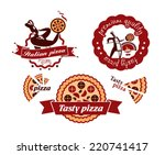 pizza. vector format | Shutterstock .eps vector #220741417