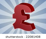 british uk pounds currency... | Shutterstock .eps vector #22081408