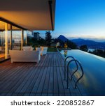 Modern House With Pool And...
