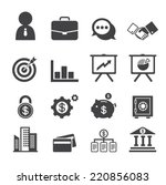 business and finance | Shutterstock .eps vector #220856083