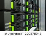 array disk storage in data...   Shutterstock . vector #220878043