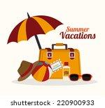 summer design over white...   Shutterstock .eps vector #220900933