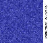 microchip abstract vector blue... | Shutterstock .eps vector #220926427