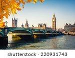 big ben and houses of... | Shutterstock . vector #220931743