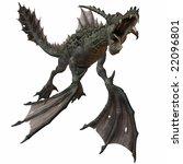 fantasy monster | Shutterstock . vector #22096801