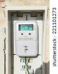 digital light meter equipped... | Shutterstock . vector #221101273