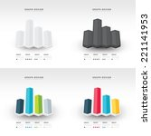 3d arrow infographics and