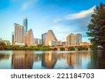 View Of Austin  Texas Downtown...
