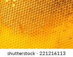 unfinished honey making in... | Shutterstock . vector #221216113