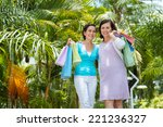 Happy Vietnamese Women With...