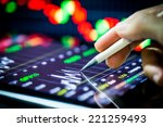 stock analysis | Shutterstock . vector #221259493
