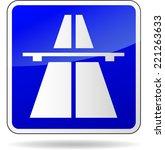 vector illustration of freeway...   Shutterstock .eps vector #221263633