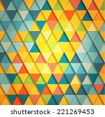 abstract geometrical background.... | Shutterstock .eps vector #221269453
