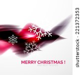 purple color christmas blurred... | Shutterstock . vector #221372353
