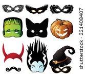 Halloween Black Cat Mask...