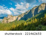 Yosemite Valley And The Sierra...