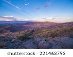 Coachella Valley And Mountains...