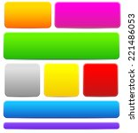 bright  colorful button  bar or ... | Shutterstock .eps vector #221486053