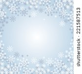 winter background with... | Shutterstock .eps vector #221587513