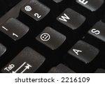 close up of a computer keyboard ...   Shutterstock . vector #2216109