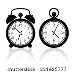 clock icon | Shutterstock .eps vector #221635777