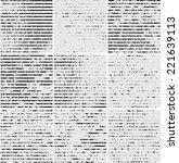 set of nine distress textured... | Shutterstock .eps vector #221639113