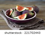 Fresh Figs In A Bowl  Healthy...