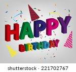 happy birthday party background