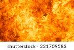 blaze fire flame texture... | Shutterstock . vector #221709583