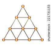tetraktys  unit of four  ...   Shutterstock . vector #221731153