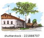 Russian Village House Color...
