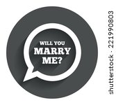 will you marry me speech bubble ...