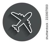 airplane sign. plane symbol....