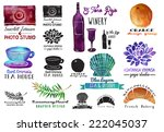 Watercolor Labels   Set Of...