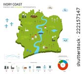 energy industry and ecology of... | Shutterstock . vector #222157147