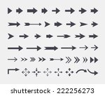 vector set of different vector... | Shutterstock .eps vector #222256273