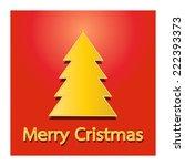 christmas background | Shutterstock . vector #222393373