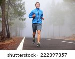 healthy running runner man... | Shutterstock . vector #222397357