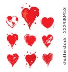 collection vector illustrations ... | Shutterstock .eps vector #222430453