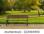 bench in the park | Shutterstock . vector #222464443