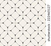 vector seamless pattern. modern ... | Shutterstock .eps vector #222465127