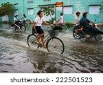 ho chi minh city  vietnam  oct... | Shutterstock . vector #222501523