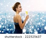 drinks  christmas  holidays and ... | Shutterstock . vector #222525637
