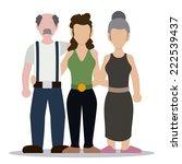 family graphic design   vector... | Shutterstock .eps vector #222539437