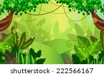 thickets in the jungle | Shutterstock .eps vector #222566167