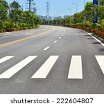 the image of country road with... | Shutterstock . vector #222604807