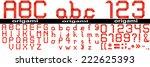 concept or conceptual group set ... | Shutterstock . vector #222625393