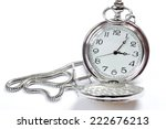 pocket watch on white | Shutterstock . vector #222676213