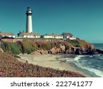 Pigeon Point Lighthouse In Big...